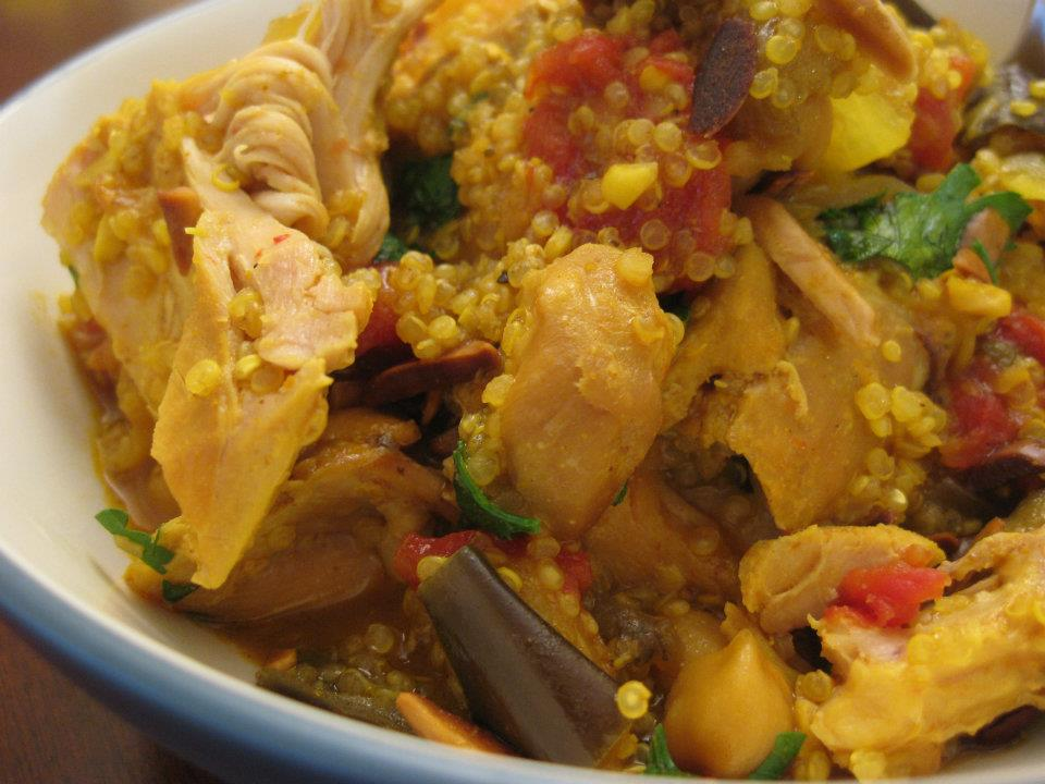 Lean Mean Chicken Tagine